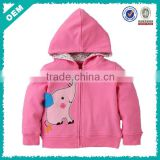 2-6 years kids clothes , baby hoodies from china , little girls red hoodies (lyh03000189)