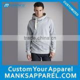 customized men and women cowl neck hoodies