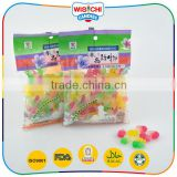 Cute animal shaped low sweet soft gummy candy