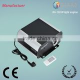 150W 8colors change fiber optical terminal equipment for chandelier