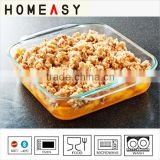 Microwave Glass Deep Baking Trays/High Quality Deep Baking Trays