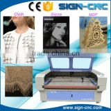 1610 cnc laser cloth cutting machine/automatic laser fabric laser cutting machine/Laser cutting for fabric