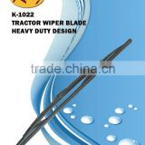 K-1022 Tractor Wiper Blade for Ford,John Deere, Hyster, Steyr.... heavy duty wiper blade
