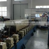 Cold roll forming machine of shutter slats