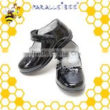 Factory audit healthy non slip black school shoes cricket shoe