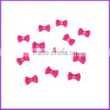 30pcs Bowknot Bow Tie Butterfly 3D Nail Art Decoration Pink HN611