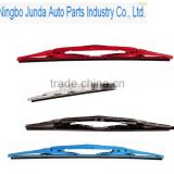 High quality colored auto windshield soft wiper blade