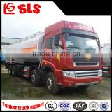 High volume Dongfeng 8*4 fuel tanker truck,oil transportation truck,oil truck 30000 liters