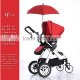 red baby stroller clamp and clip kids umbrella parasol
