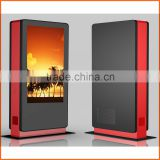 LED all in one pc 46inch advertising display, monitor stand, outdoor lcd touch screen display