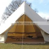 5+ Person waterproof cotton Canvas Bell Tent
