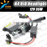 Factory price xenon hid kit H4 hi/low beam xenon bulb 12V 35W super slim digital ballast hid xenon kit