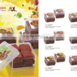 assorted flavors,natural fruit juice leisure sried meat box packing