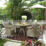 Outdoor furniture rattan dining set turkey