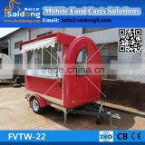 Manufacturer customized Mobile Ice Cream Cart-food van-food truck for sale