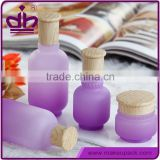 With stick essential oil purple glass bottle for e liquid