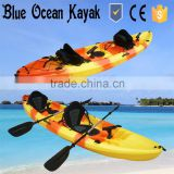2015 Blue Ocean May hot sale 2 person fishing kayak/2 person ocean kayak/2 person ocean fishing kayak