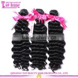 Wholesale full cuticle 18 inch brazilian loose deep wave high quality 10a brazilian virgin hair deep wave