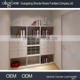 Golden supplier office bookshelves, buy bookcase, red bookcase