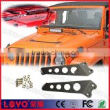 jeep wrangler accessories 20 inch led light bar mounting bracket for jeep hood led bracket