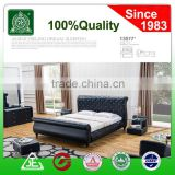 13077 New Double/Queen/King PU Leather upholstered Bed Frame & Tufted Headboard