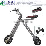 2016 Hot Sale Simple alloy Foldable Electric Bicycle K design Mini E-bike Lithium Battery electric scooter
