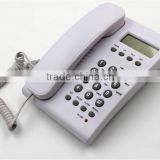 SC-104 line power analog Corded Phone with caller ID for home and hotel use, a professional manufacturer for phones