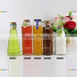 factory wholesale OEM glass juice bottle glass bottle cold tea bottle 350ml