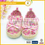 High qulity hot sale fancy girl infant shoe baby barefoot sandals