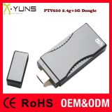X-YUNS PTV650 Dual band HDMI wireless dongle high speed 2.4g 5g network dongle