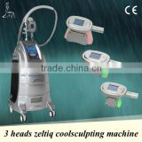 Cryolipolysis weight loss system,3 interchangeable handles,super frozen wave control technology,3 years guarantee