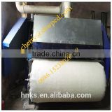 Cotton waste carding machine / cotton wool rolls making machine / comb wool machine price