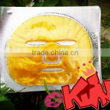 bulk buy from china OEM private label anti-wrinkle&dark circles firming gold Collagen face mask gold collagen facial mask