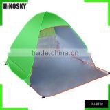 Lightweight fast folding sun shelter UV protection