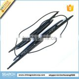 Car wiper blade with water nozzle for Samand
