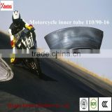 China qingdao kunhua hot sale natural rubber motorcycle inner tube 110/90-16 factory price