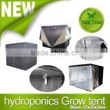 2x2x2m Hydroponic Indoor Grow Tent Oxford Cloth Bud Dark Green Room Box