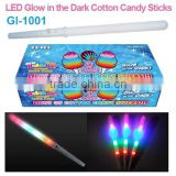 2015 LED Glow in the Dark Cotton Candy Sticks