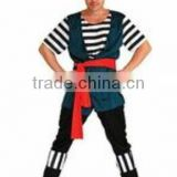 oem Wholesale Girls National Costume Hot sale Pirate Costumes Fashional Halloween Cheap Pirate Costumes