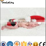 Cute Newborn Baby Girl/Boy Crochet Knit Tinaluling Santa Costume Photo Photography Prop Christmas Outfit for newborn baby
