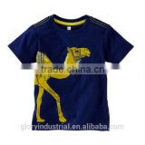 Printed with camel boys baby clothing design china