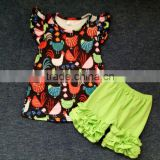 girls clothing sets fall clothes toddler outfits princess girls boutique clothing