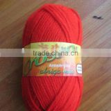 100% acrylic yarn hanks