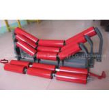 Dia 89mm Conveyor Belt Carrier Roller Drum Return Roller with bracket