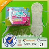 100% pure cotton 155mm panty liner