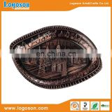 High Quality Antique New York Custom Souvenir Metal Copper Souvenir Plate