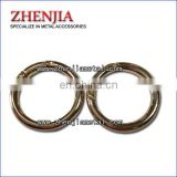 detachable metal O ring openable metal O ring for handbags