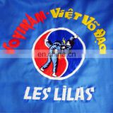 EMBROIDERY ON VOVINAM UNIFORM/ CUSTOMIZED EMBROIDERY