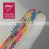 High quality multicolor cotton crochet lace trimmings