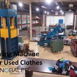 Baling Machine For Used Clothing